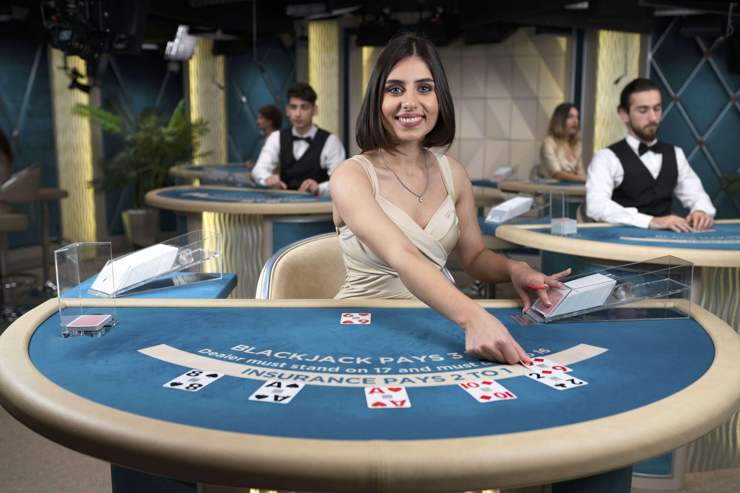 blackjack dealster