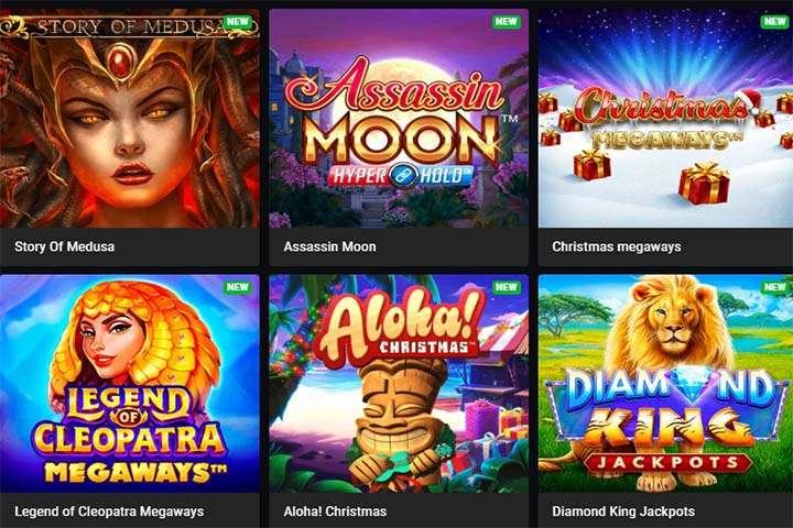 Grote keuze aan gokkasten